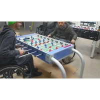 Настольный футбол (кикер) для людей с ограниченными возможностями