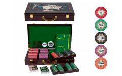 Набор для покера LUX на 400 фишек