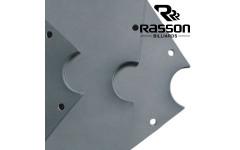 Плита для бильярдных столов Rasson Original Premium Slate 9фт h25мм 3шт.