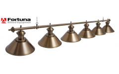 Светильник Fortuna Toscana bronze antique  6 плафонов