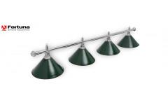 Светильник Fortuna Prestige Silver Green 4 плафона