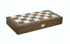 Шахматный ларец складной  бук Эконом, 50мм
