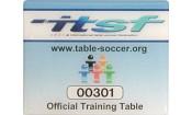 Профессиональный тренировочный настольный футбол ITSF-стандарта Garlando Pro Champion